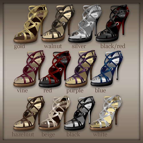 Bellucci High Heels Collection