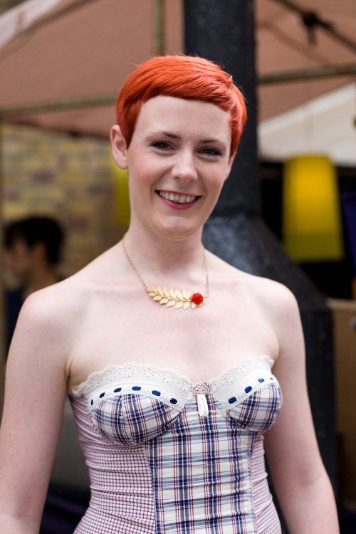 Flame haired - Brick Lane