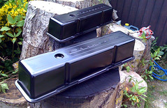 Valve Covers Painted