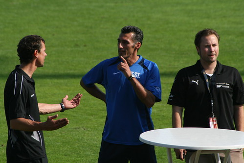 Pressekonferenz nach dem Spiel