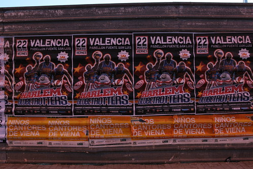 Harlem Globetrotters in Valencia!