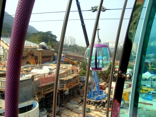 on going construction