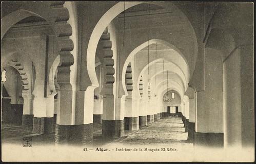 Interior view, El-Kébir Mosque (GRI)