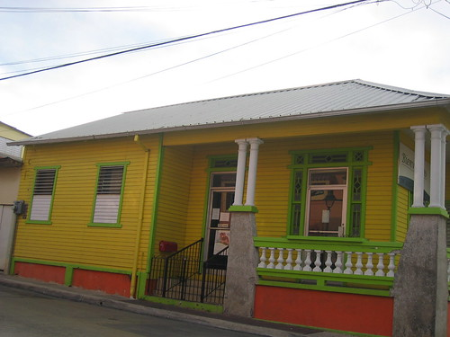 A yellow house in Cabo Rojo