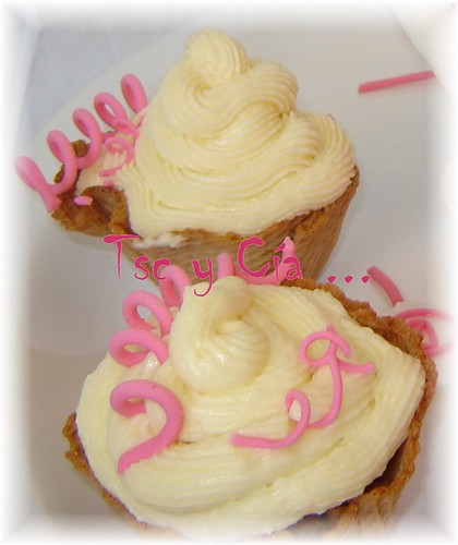 cupcake barquillo