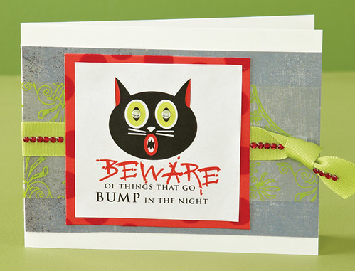 Bump in the Night Card by Brandy Jesperson