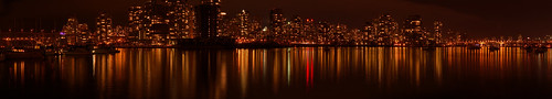 False Creek night panorama