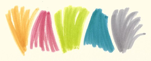 Summer Ink Palette No 1