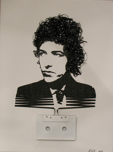 Ghost in the Machine: Bob Dylan by iri5.
