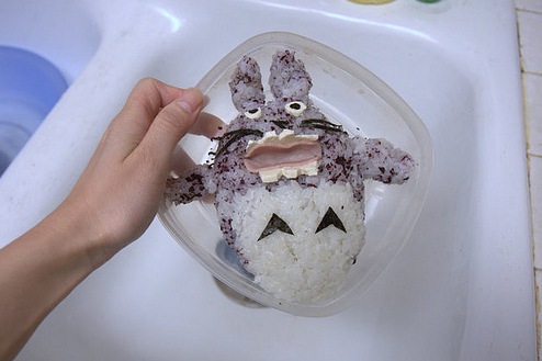 Totoro bento by Pirikara (Audrey), Created/posted on 1/28/2009