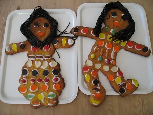 Kagemand og kagekone. Foto: Lisa Risager