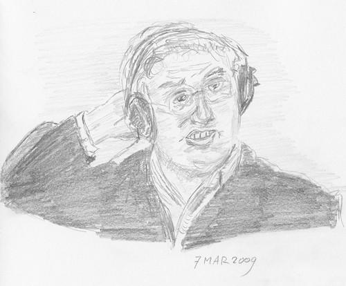 Drawing Leo Laporte - TTG 2009-03-07