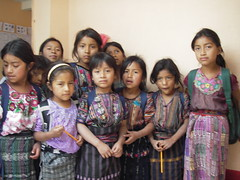 Tierra Linda Mayan school girls