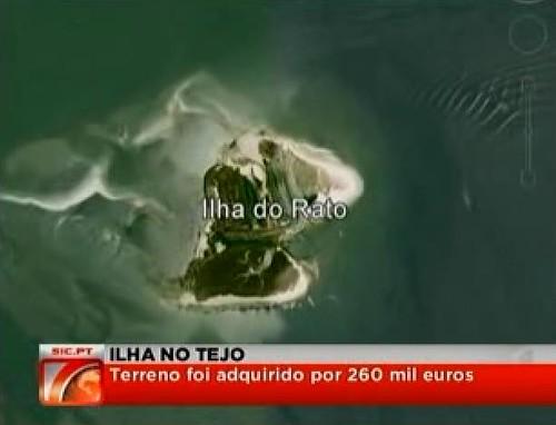 Ilha do Rato (vendida por 260 mil euros)