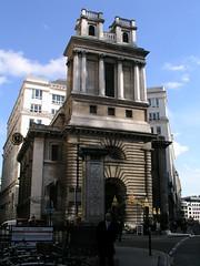 St Mary Woolnoth church, London, by Nicholas Hawksmoor