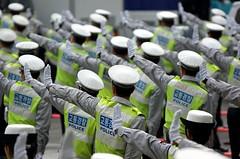 Traffic Police on Trainning