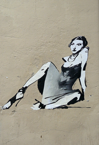 Sitting on a wall
