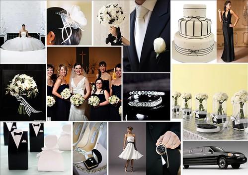 3692155772 4a666b66fe Baú de ideias: Decoração de casamento preto e branco