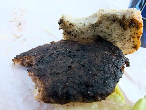 Forkullet burger