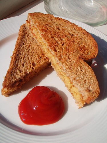 Cheater Grilled Cheese