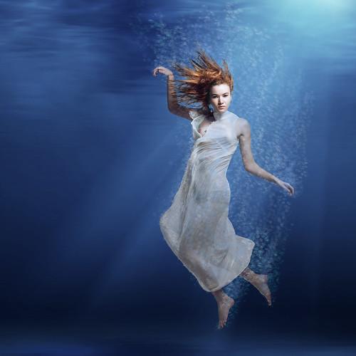Kayla Underwater [Explored] #2 by RickrPhoto