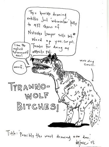 tyrannowolf!