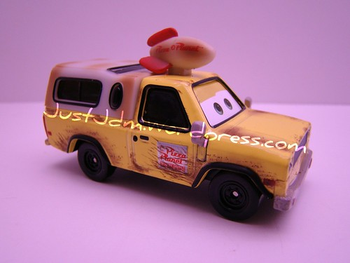 Disney CARS Pizza Planet Truck Todd (3)