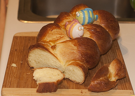 Challah with Fish
