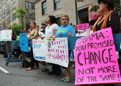 Advocates are getting frustrated with Obamas immigration policies. (Photo: New York Immigration Coalition)