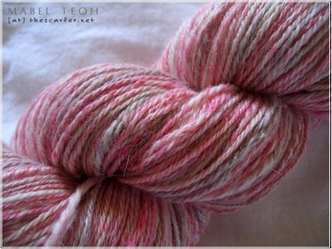 SS Handspun - Heathered Pink