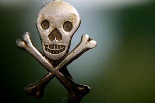 Friday: Skull Pin