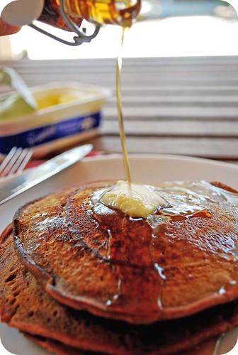 Gingerbread Pancakes II