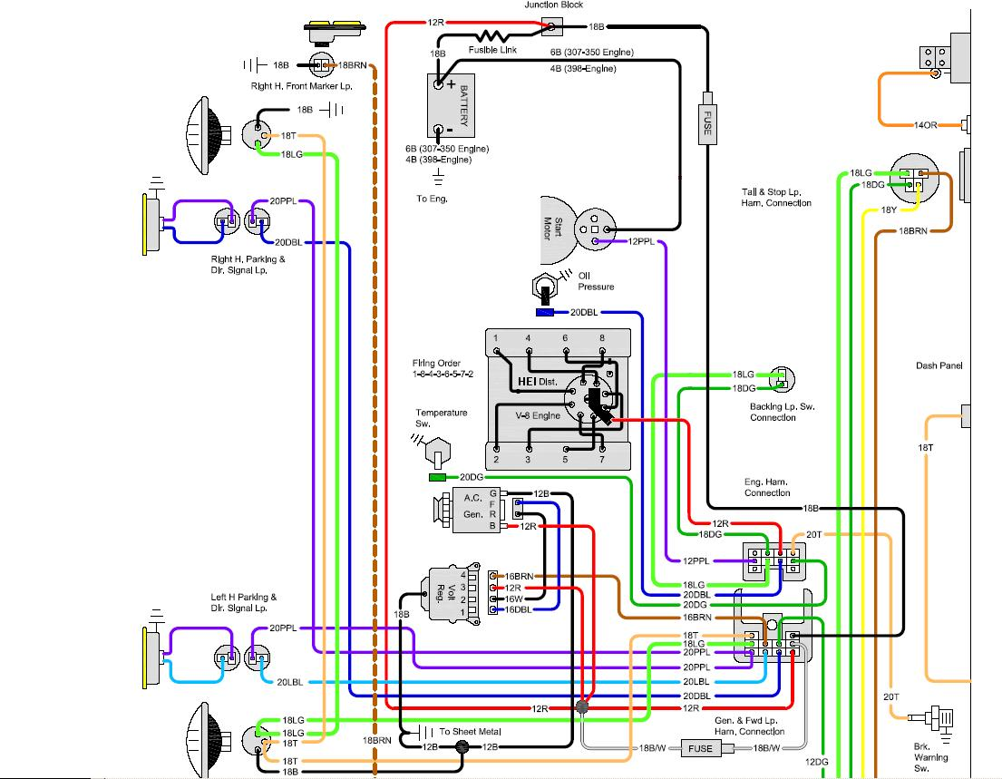 Pretty 1972 C10 Tail Light Wiring Diagram Gallery - The Best ...