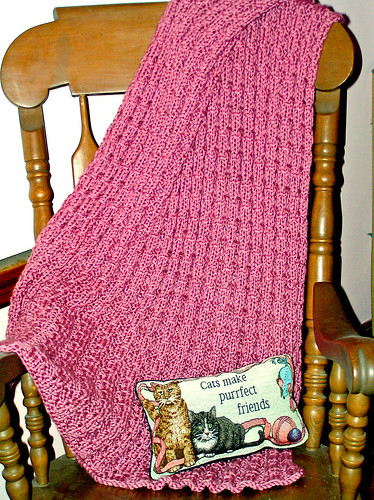 Baby Blanket - Test Knit I - 04