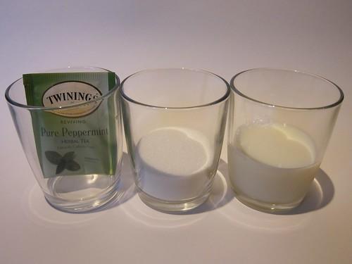 Mint Tea Popsicle Ingredients