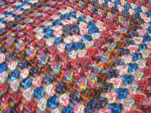 granny square detail by you.