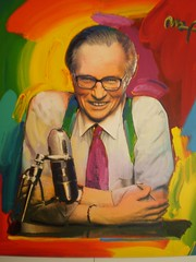 Larry King Painting