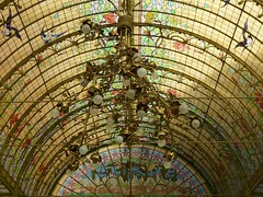 art nouveau dome of light