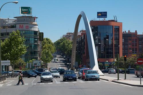 Subimos por la calle de Alcalá