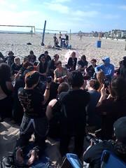 Amanda Palmer's Ninja Beach Gathering