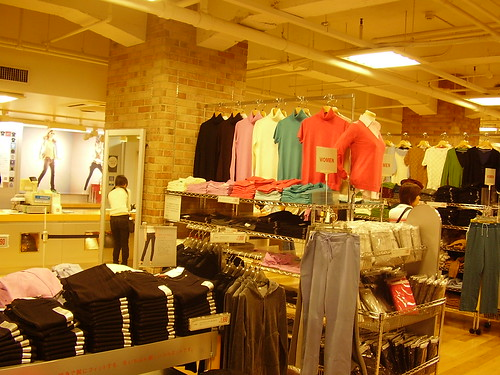 UNIQLO - good quality, great priced clothing store