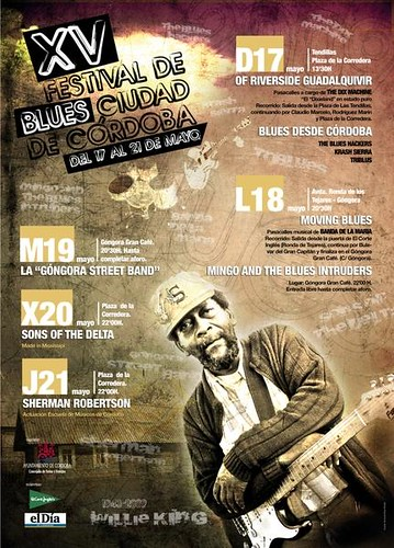 Festival de Blues Ciudad de Cordoba.