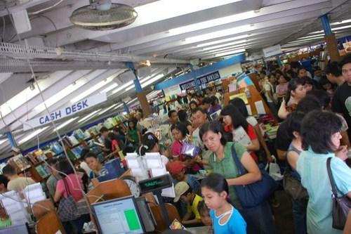 bookstore inside mv doulos