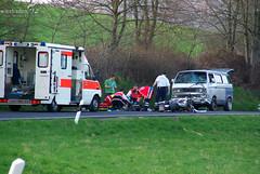 Schwerer Motorradunfall zw. Kloppenheim und Heßloch 01.04.09