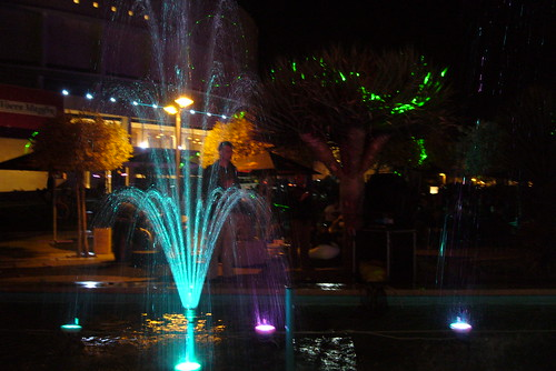 Lasers & fountains