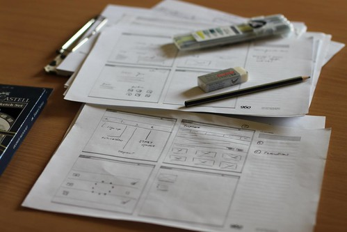 Wireframes by lilit.