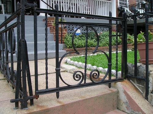 Fence on Rock Creek Church Rd