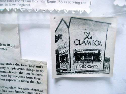 The Clam Box Memories