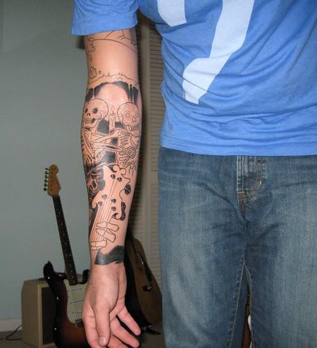 Tattoos Dunedin · Outline