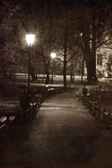 Night Walk in Krakow